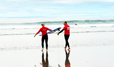 North Devon Surfing Lessons - Putsborough, Croyde, Saunton, South West.